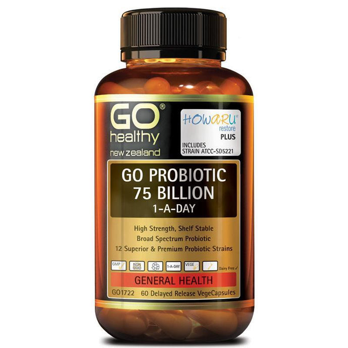 Go Healthy Probiotic 75 Billion (60c)