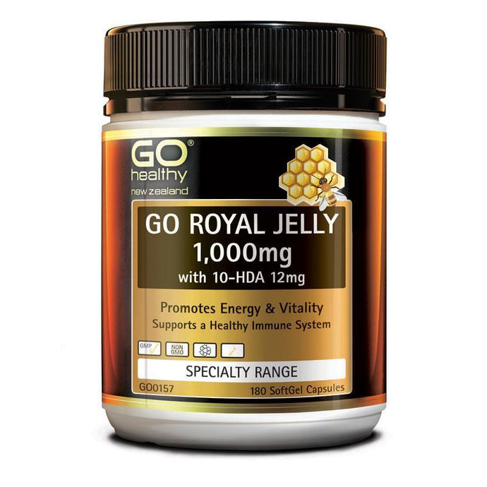 Go Healthy Royal Jelly 1000mg (180c)