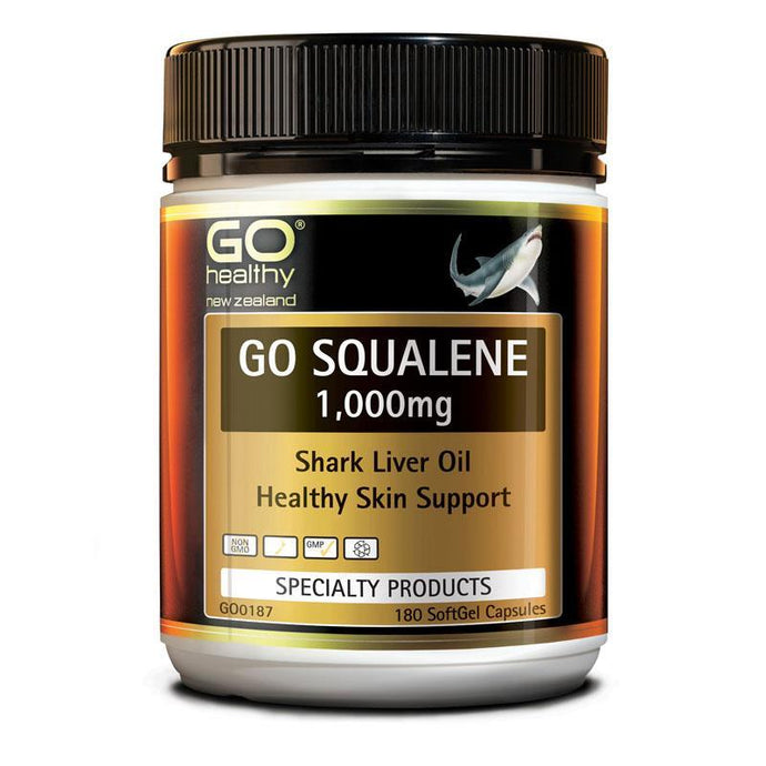Go Healthy Squalene 1000mg (180c)