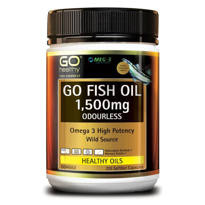 Go Healthy Fish Oil 1500mg  (210s)