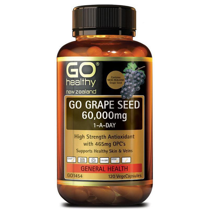 Go Healthy Grape Seed 60000 (120c)