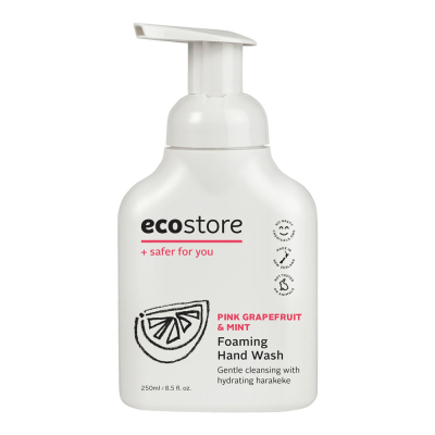 EcoStore Foaming Hand Wash Pink Grapefruit and Mint (250ml)