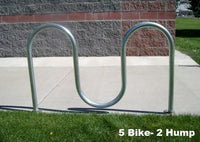 Serpentine Bike Rack