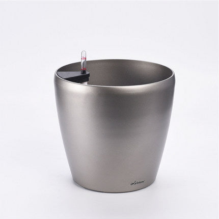 Leizisure Self-Watering Round Planter