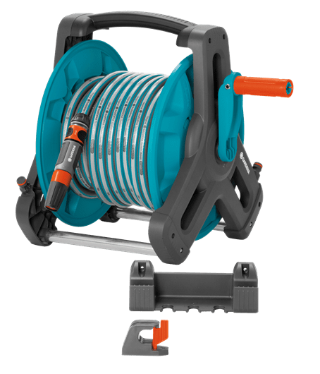 Gardena Wall-Fixed Hose Reel 50 Set - Garden Plus