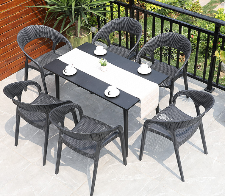 Plastic Table & Chairs Set No.1 - Garden Plus