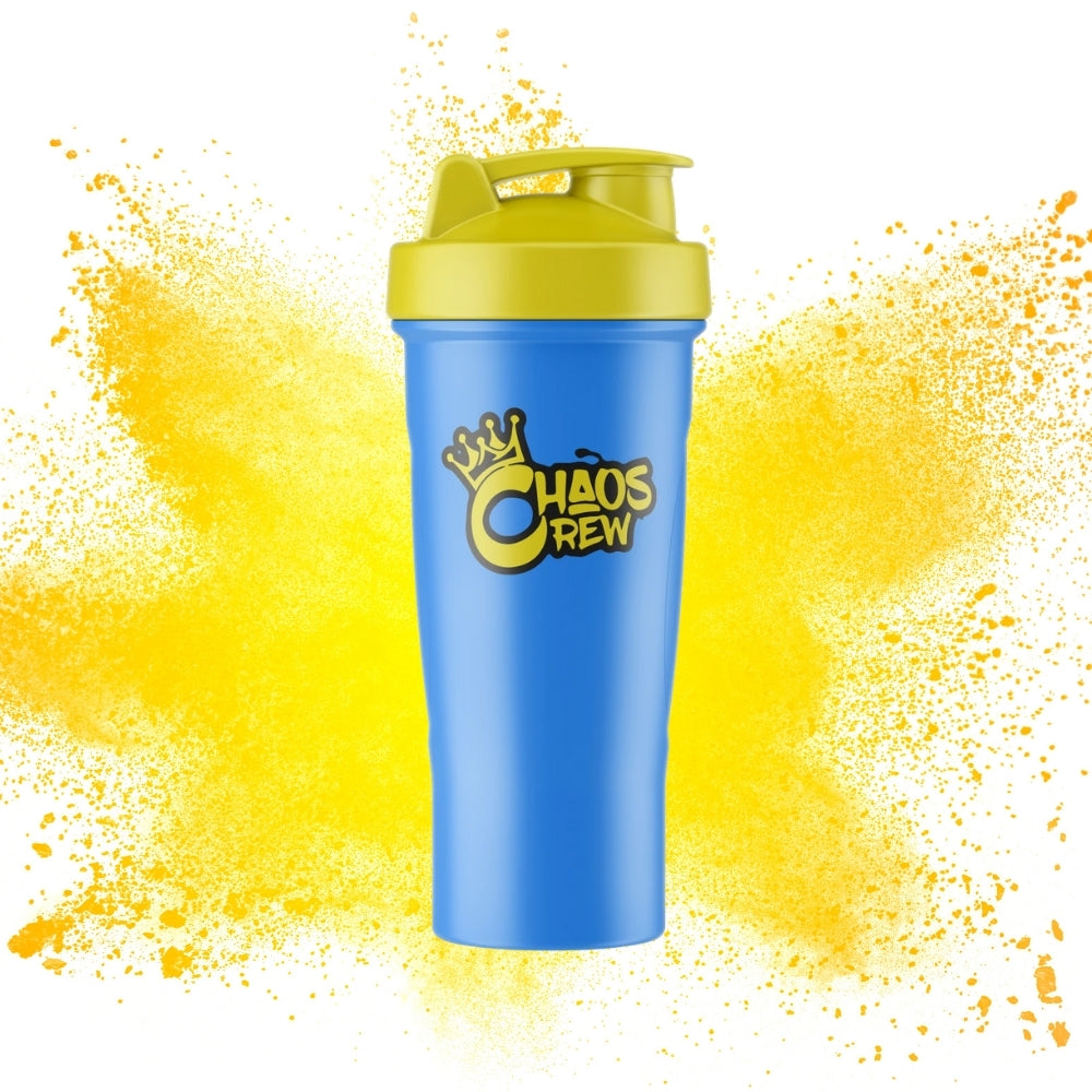 Chaos Crew Shaker blue and yellow at Megapump.ie