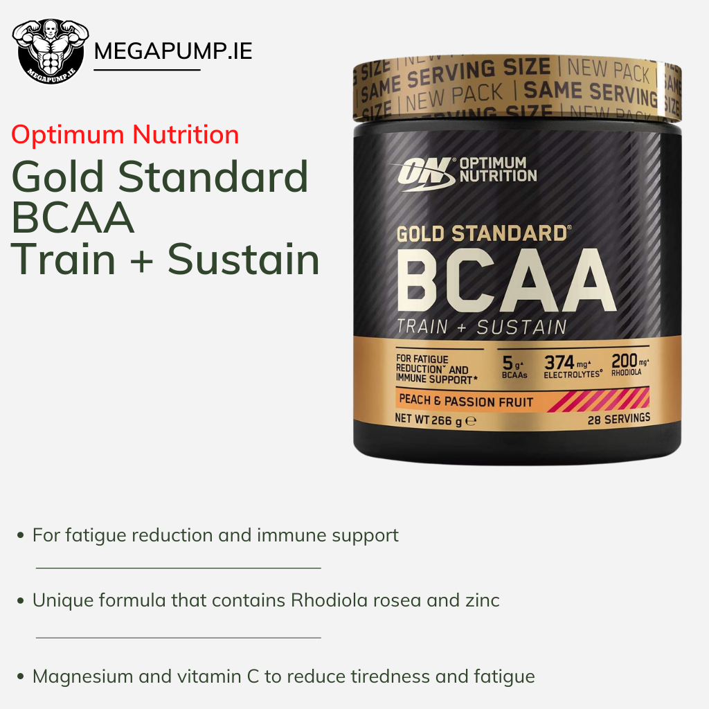 Gold Standard BCAA Train + Sustain Optimum Nutrition - MEGAPUMP