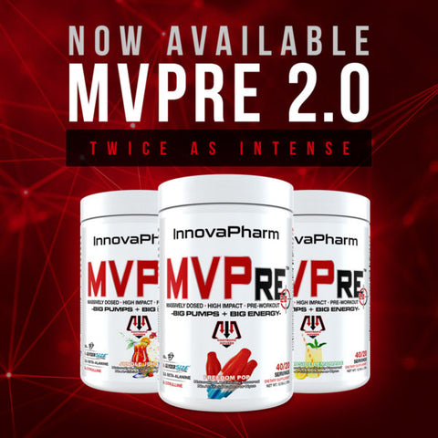 InnovaPharm MVPre preworkout 2.0 40 servings - Megapump,ie The Best Discount Supplement Store in Ireland and UK