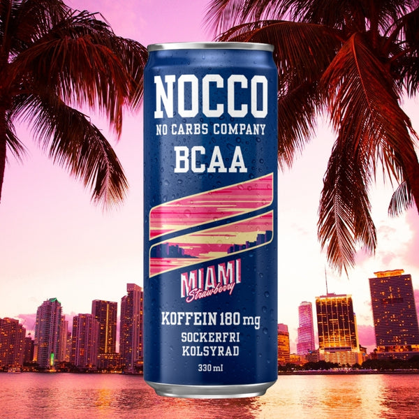 Nocco BCAA Miami Strawberry at Megapump.ie