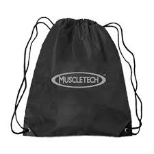 GYM STRING BAG MUSCLETECH (black)