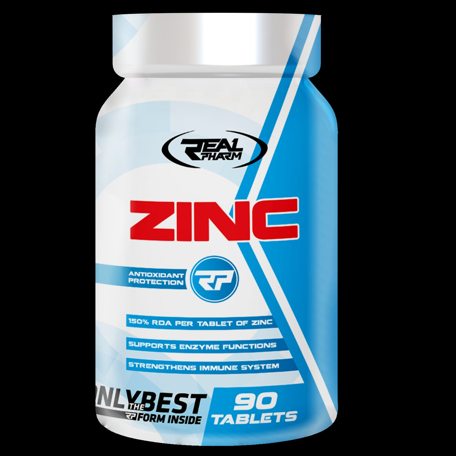 Zinc Supplement REAL PHARM (90 tabs)