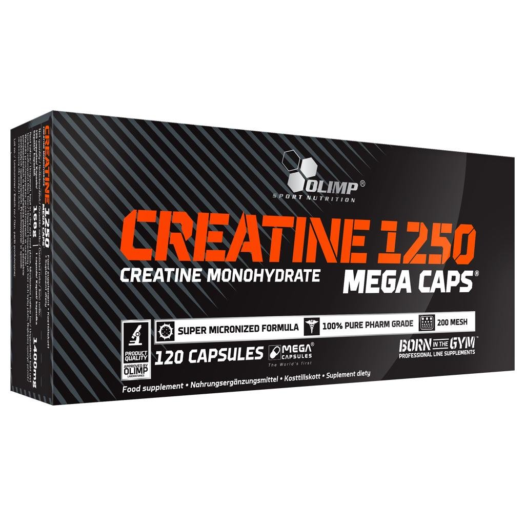 CREATINE 1250 MEGA CAPS OLIMP (120 caps)