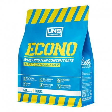 ECONO Whey Protein Concentrate UNS Supplements (1800g)