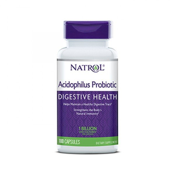 Acidophilus Probiotic NATROL SUPPLEMENTS (100 caps / 100 mg)