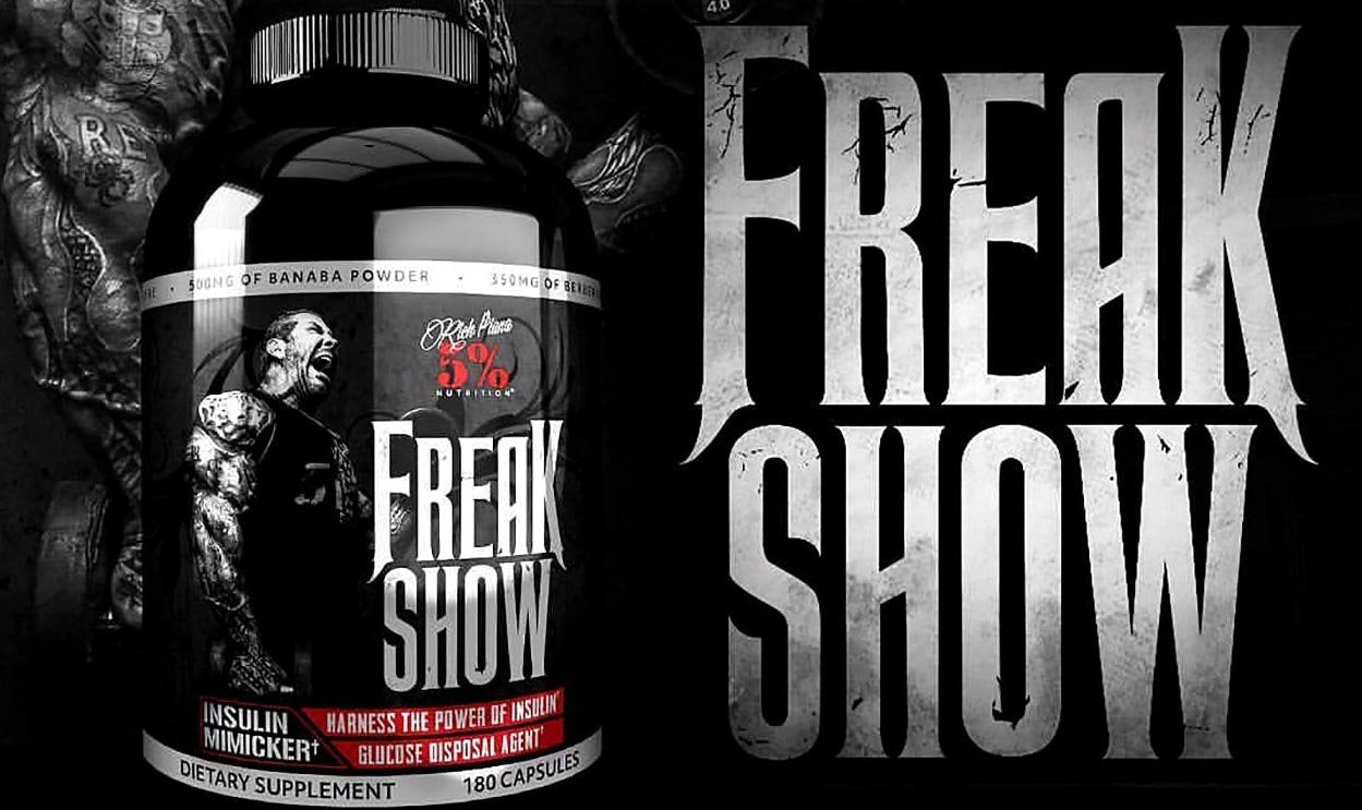 Freak Show Insulin Mimicker Rich Piana (180 capsules)