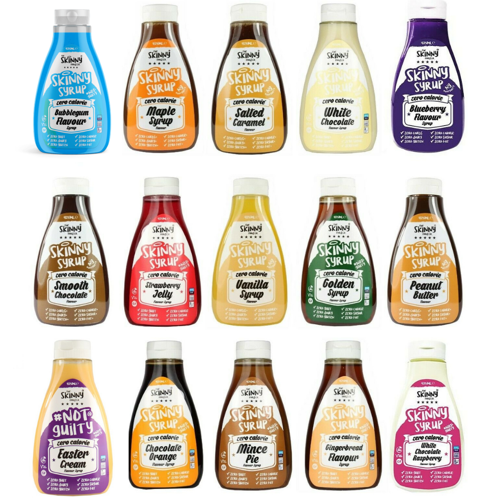 The Skinny Food co Syrups | Megapump Ireland