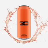 3D Energy Drink Orange Sunburst 437 ml - Megapump Ireland