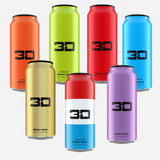 3D Energy Drink 437 ml All Flavours - MEGAPUMP Ireland