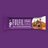 Fulfil Vitamin and Protein Bar - Chocolate Caramel & Cookie Dough 55g - Megapump Ireland