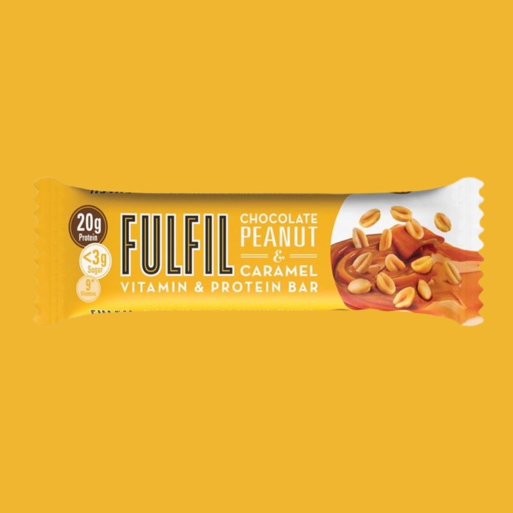 Fulfil Vitamin and Protein Bar - Chocolate Peanut & Caramel Flavour - Megapump Ireland