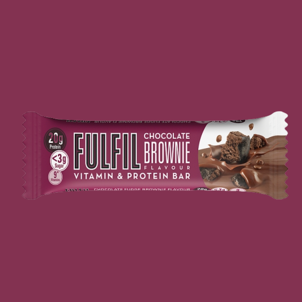 Fulfil Vitamin and Protein Bar - Chocolate Brownie Flavour - Megapump Ireland