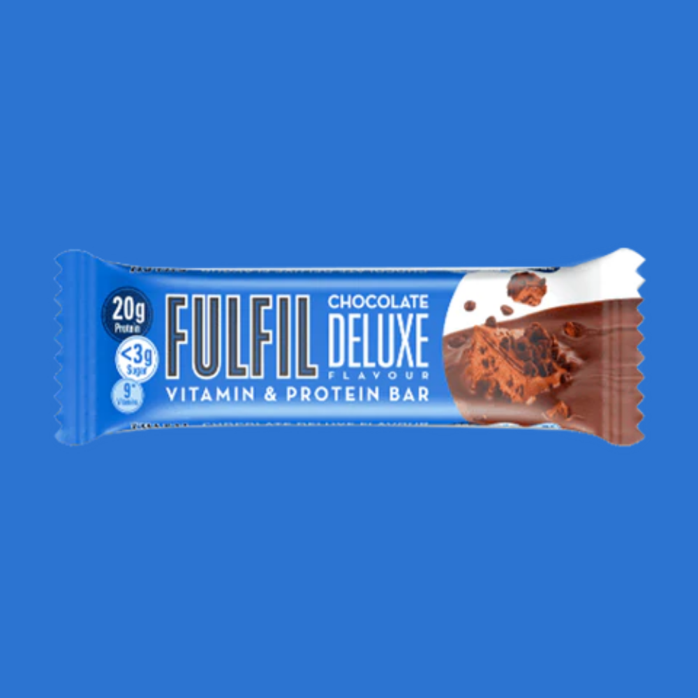 Fulfil Vitamin and Protein Bar - Chocolate Deluxe 55g - Megapump Ireland