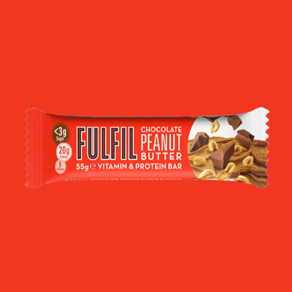 Fulfil Vitamin and Protein Bar - Chocolate Peanut Butter Flavour - Megapump Ireland