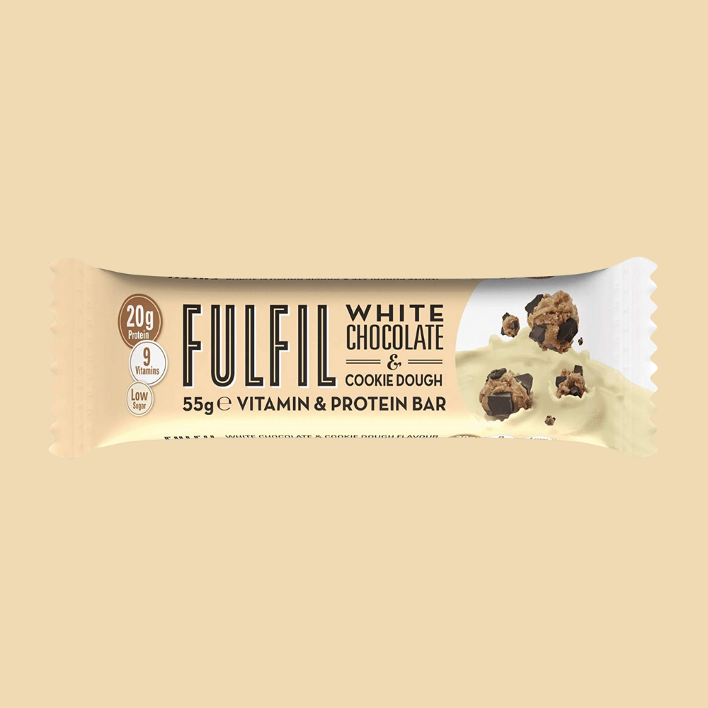 Fulfil Vitamin and Protein Bar - White Chocolate & Cookie Dough- Megapump Ireland