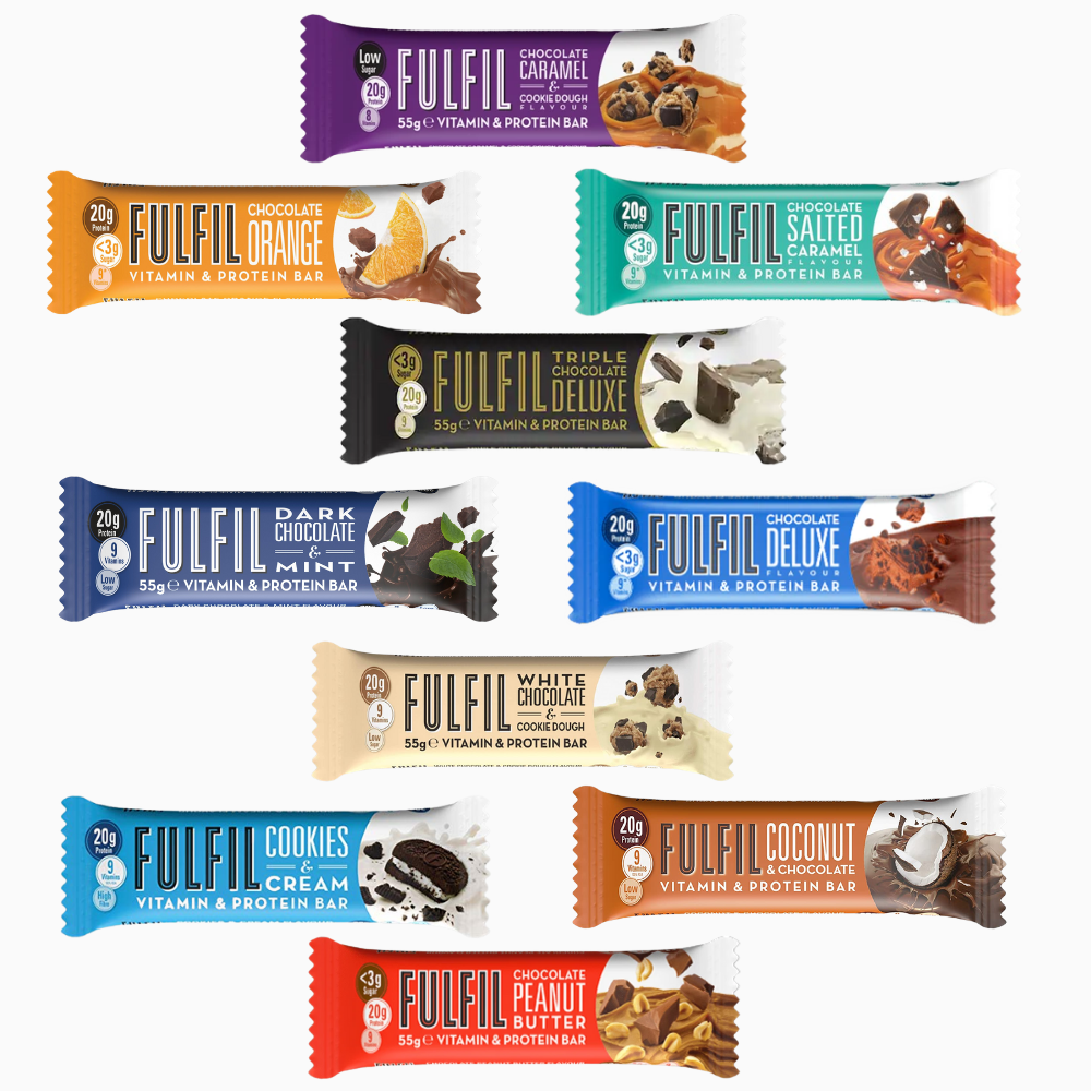 Fulfil Protein Bars 55 g All Flavours - Megapump Ireland