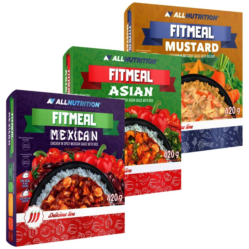 Fitmeal 420g ALLNUTRITION High protein Meals