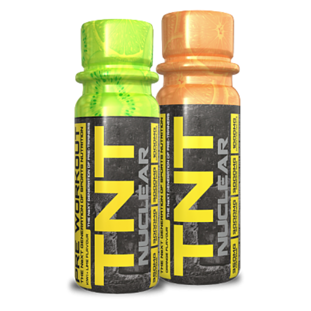 NXT Nutrition TNT Nuclear Preworkout Shot 60ml - megapump.ie