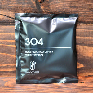 304 Dominica Pico Duarte Winey Natural /Dip Style Coffee
