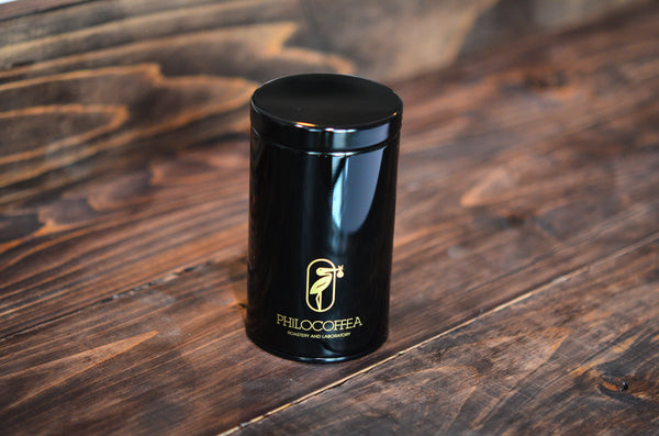 Official Philocoffea Bean Canister