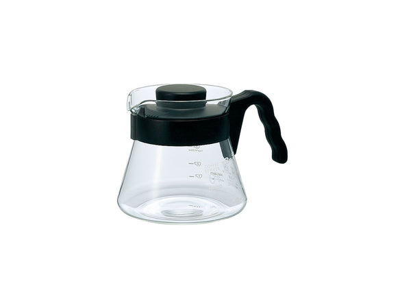 Hario V60 Glass Coffee Server 450 (1–3 cups)