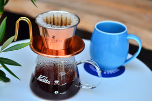 Usage demonstration for the Karita Wave Original Coffee Dripper (WDC-155)