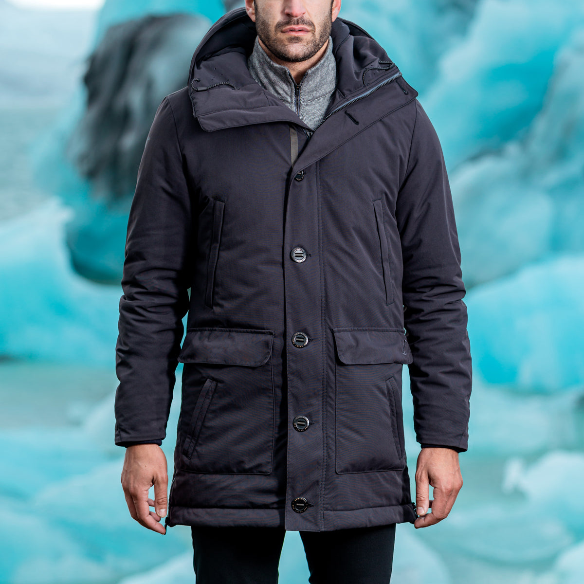Great Auk Outfitters Downless Parka