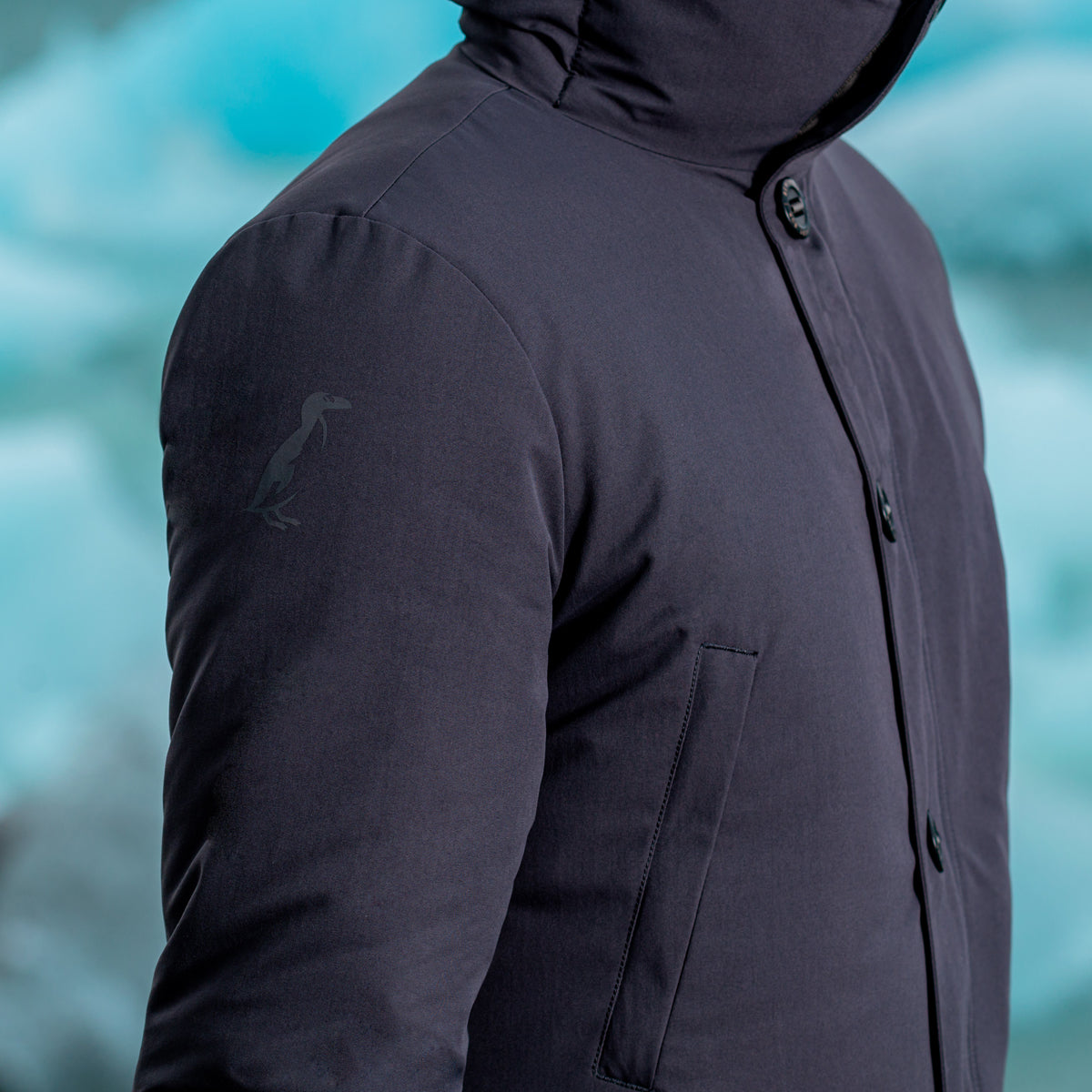 The Down-Less Parka