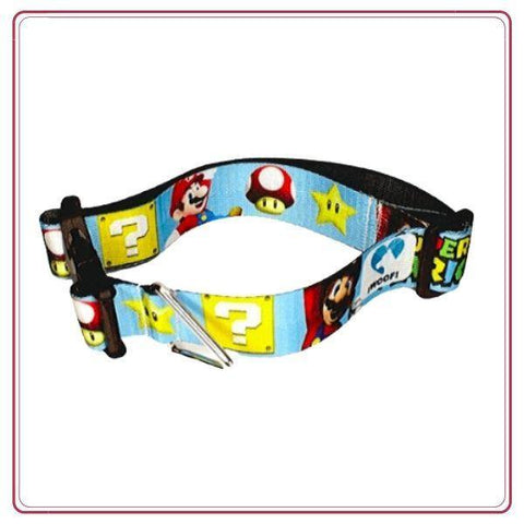 Collar para Perros Medium - Woof Mario Bros