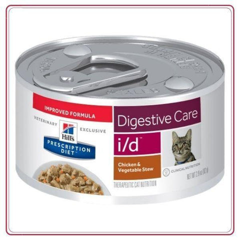 Hill's Prescription Diet i/d Feline Chicken & Vegetable Stew 156gr - Ohana Vet Store