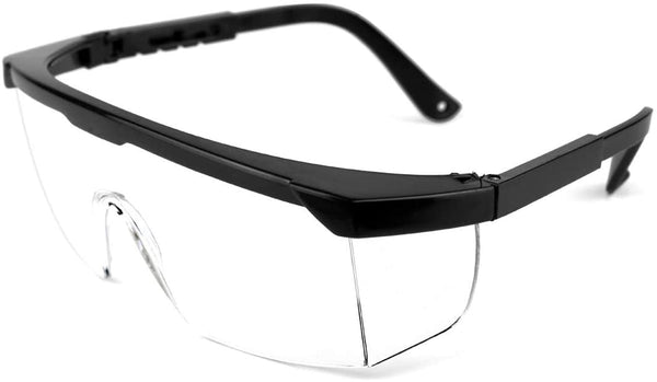 Safety Glasses, Anti Fog, Anti Scratch with Adjustable Temples Design