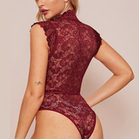 Yo Hottie Lace Transparent bodysuit