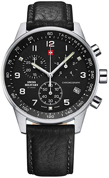 SWISS MILITARY BY CHRONO SM34012.05 MEN WATCH