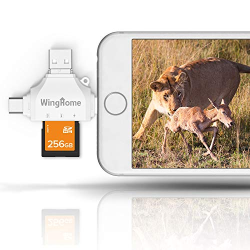 WingHome 4-in-1 SD Card Reader