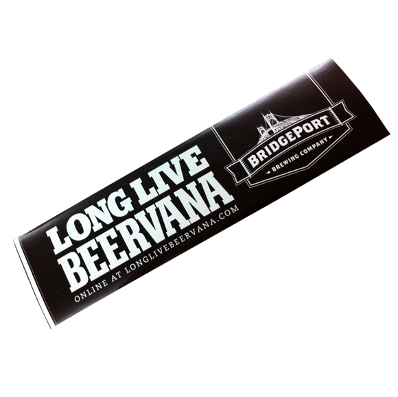 Long Live Beervana Bumper Sticker