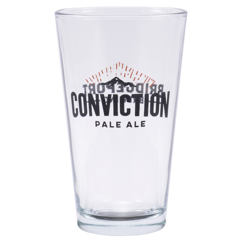 Conviction Pint Glass