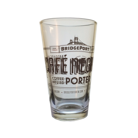 Cafe Negro Porter Pint Glass