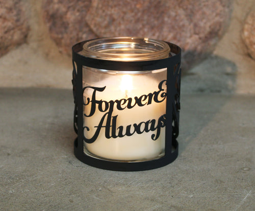Forever and Always CandleWrap