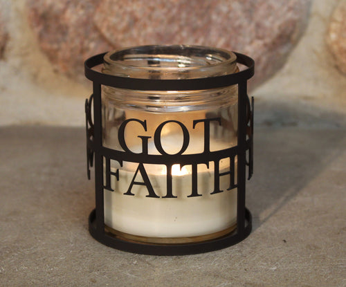 Got Faith CandleWrap