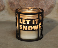 Load image into Gallery viewer, Let It Snow CandleWrap